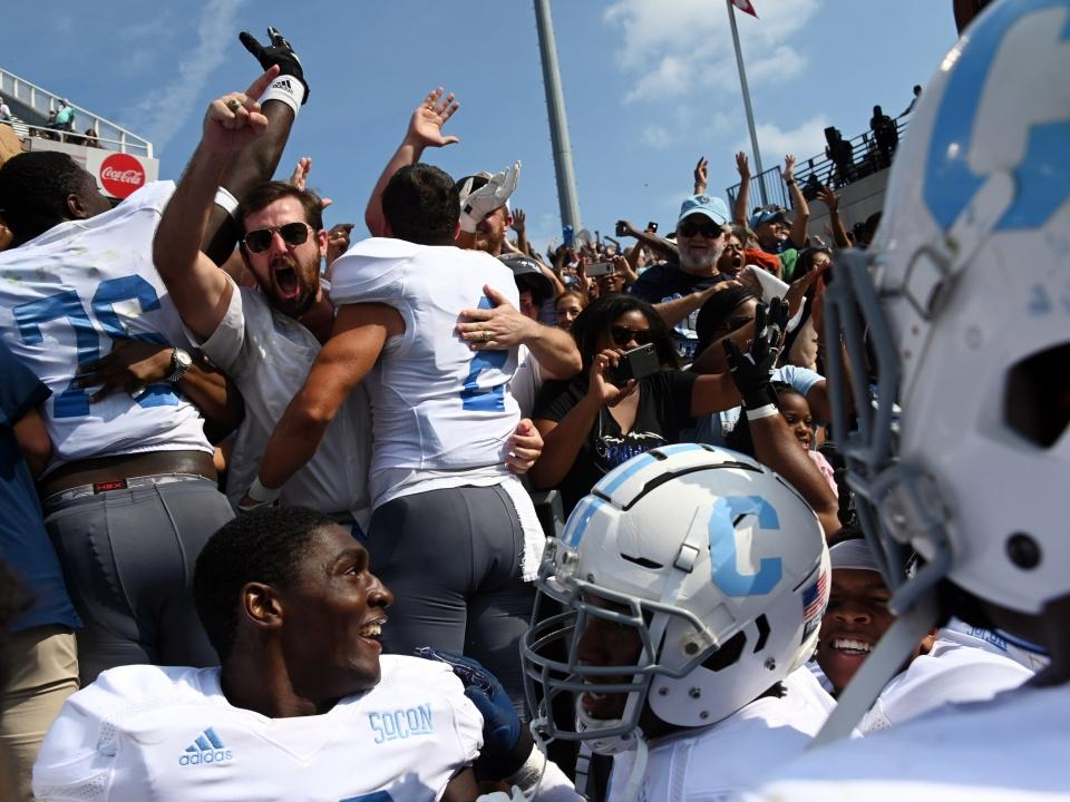 FCS over FBS: The Citadel shocks Georgia Tech in overtime