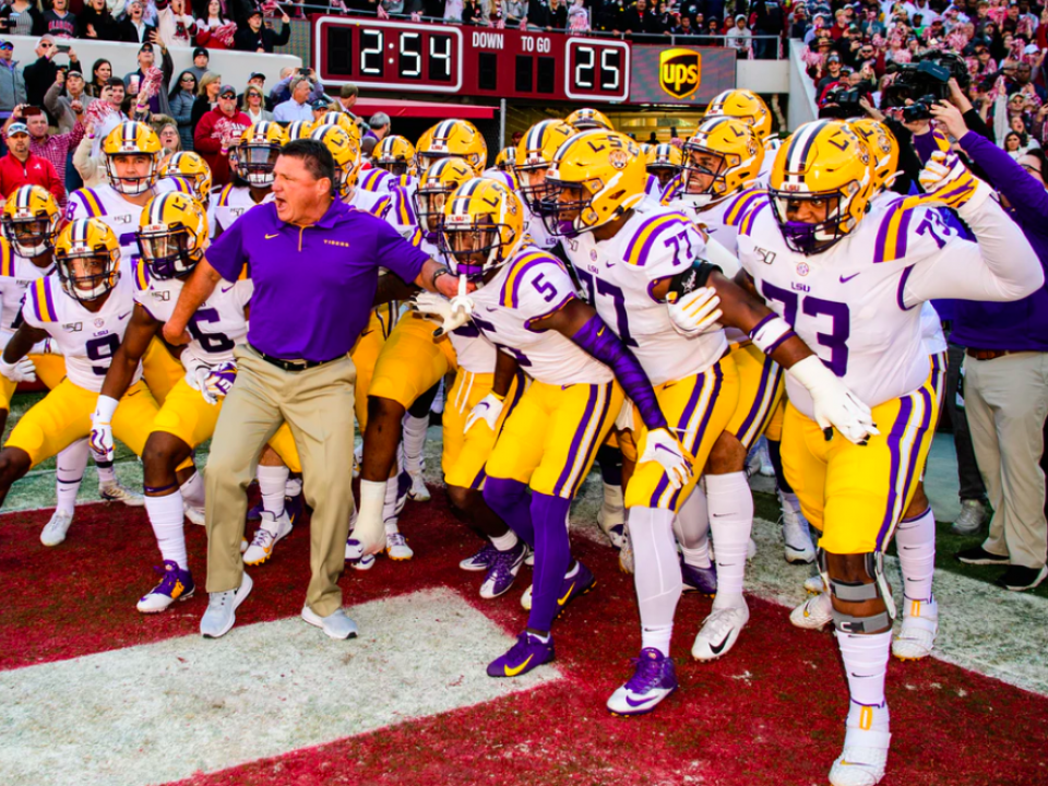 LSU is the new No. 1 in the Top 25 College Football ...
