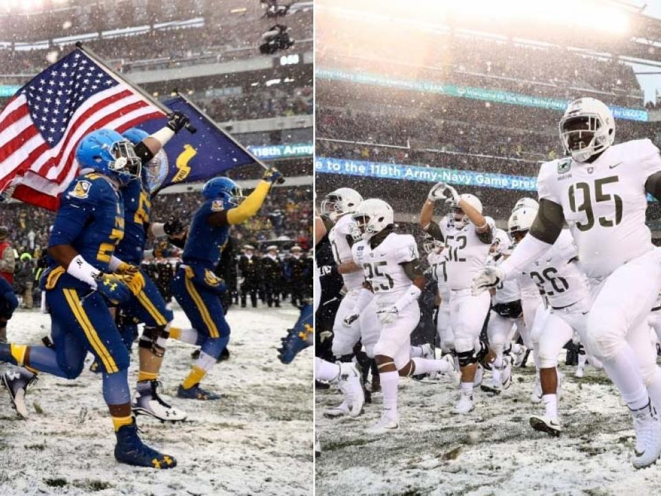 Army Navy Football Memorable Moments All Time History
