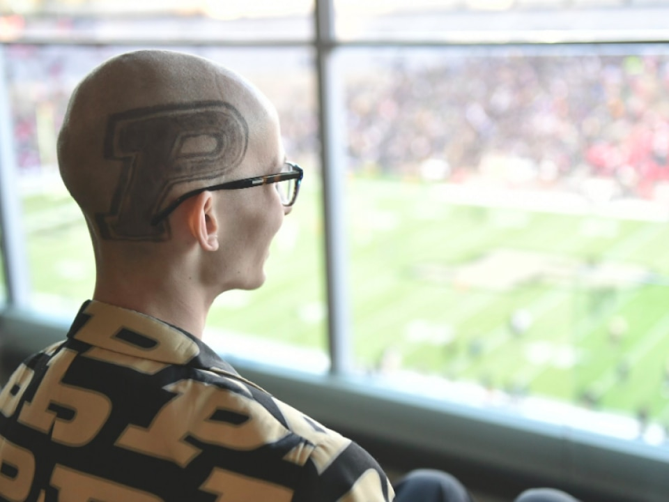 Purdue fan with cancer dies, Tyler Trent