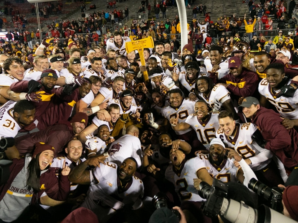 Minnesota took the win after 13 years of the axe staying in Madison.