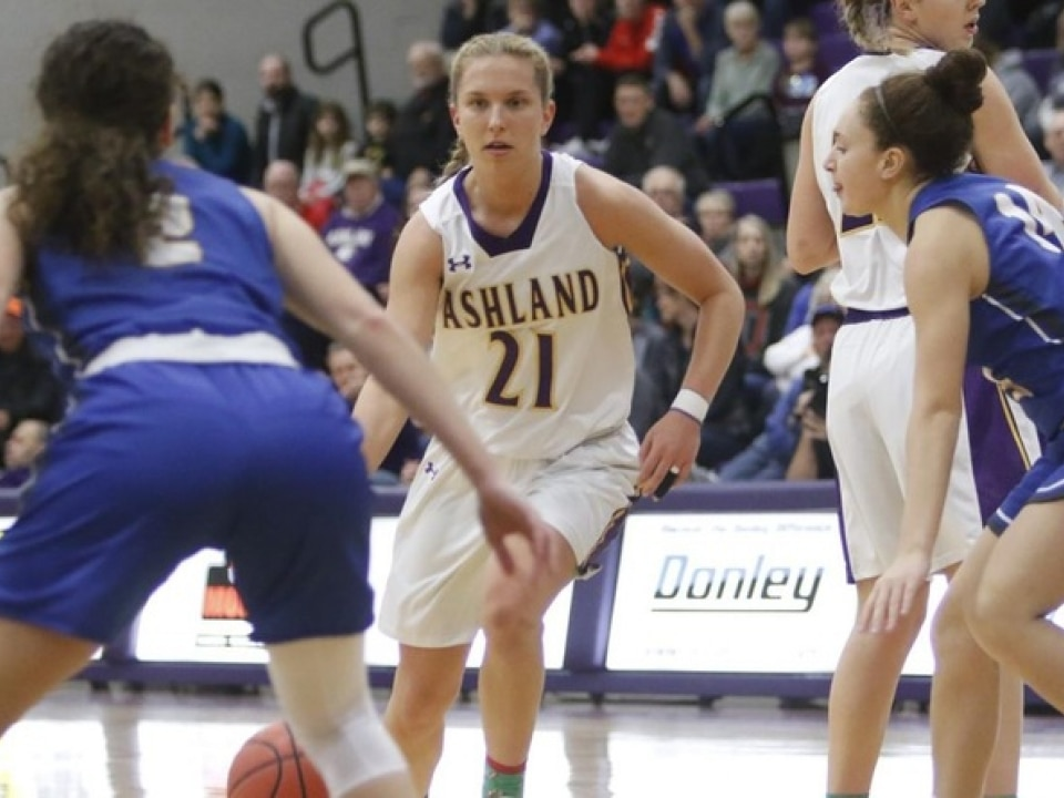 Ashland is back in the top 10 of DII women's basketball, ready to make a run to the NCAA tournament.