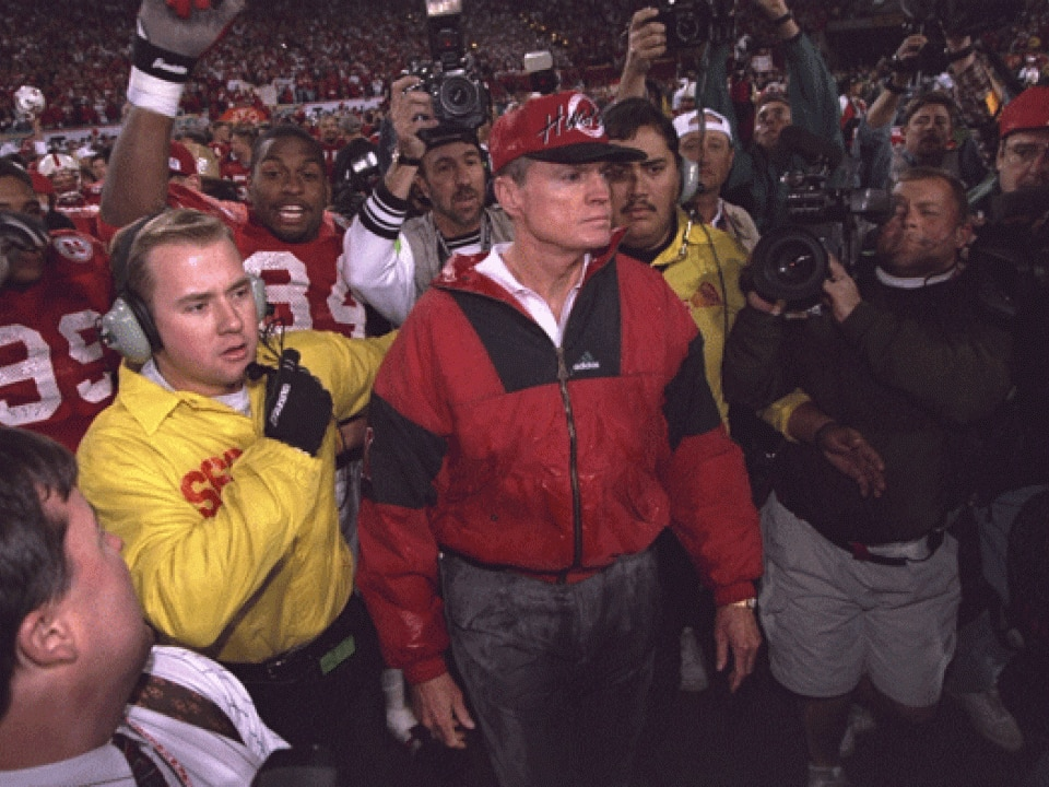 Nebraska won the title in 1995, beating Florida to finish No. 1.