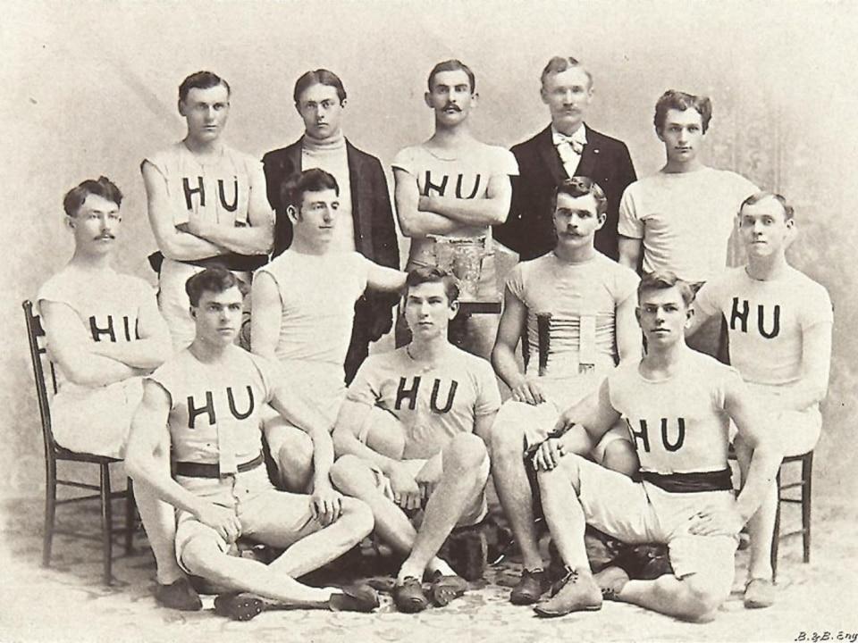 Hamline's 1985 basketball team