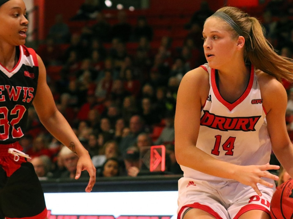 Paige Robinson is amongst the best freshmen in Division II women's basketball.
