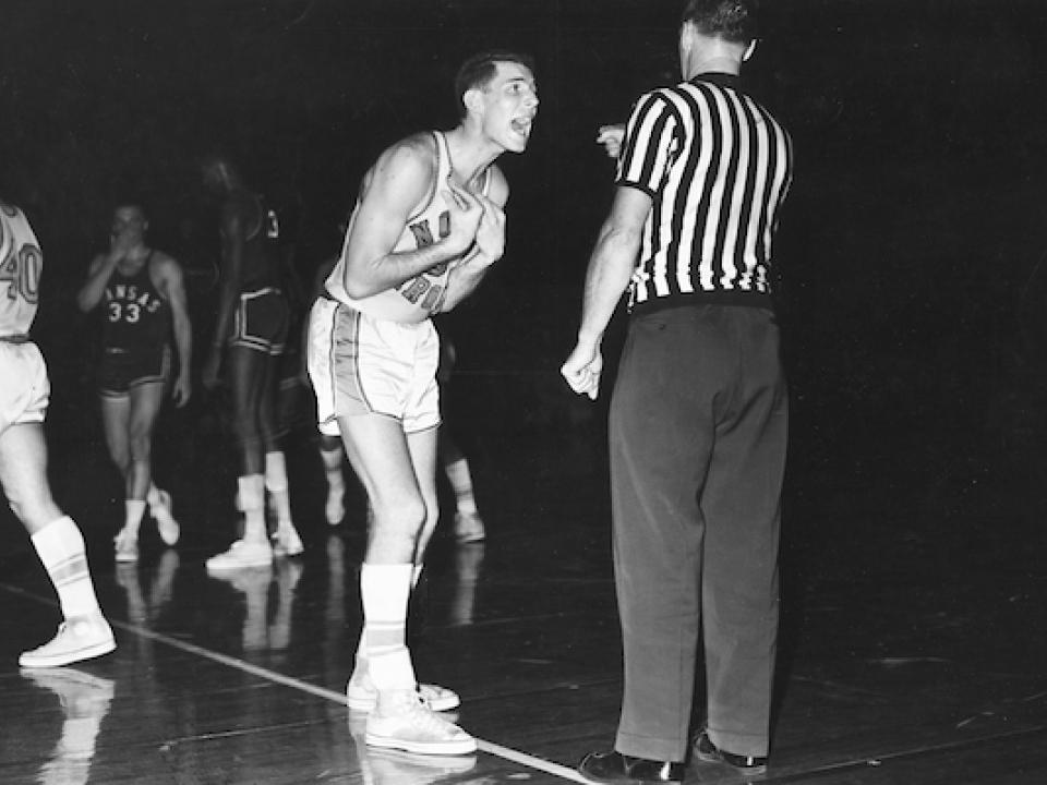 North Carolina Tar Heels basketball won a national championship in 1957