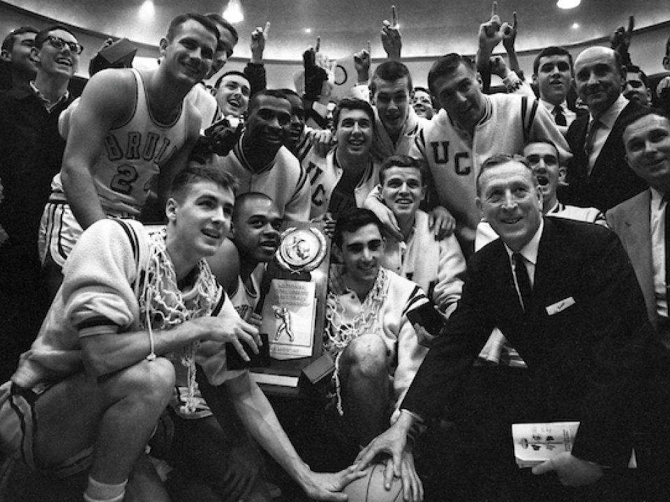 UCLA won the national championship in college basketball in 1964