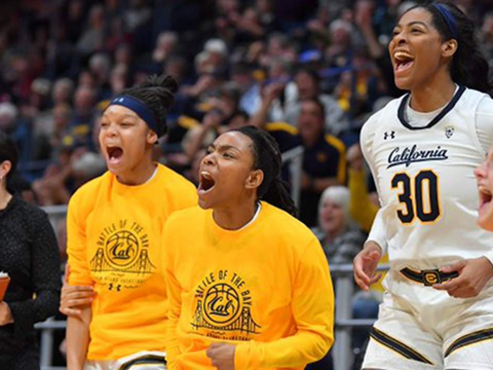 Asha Thomas hit a layup as time expired to give Cal women's basketball the upset over No. 8 Stanford.