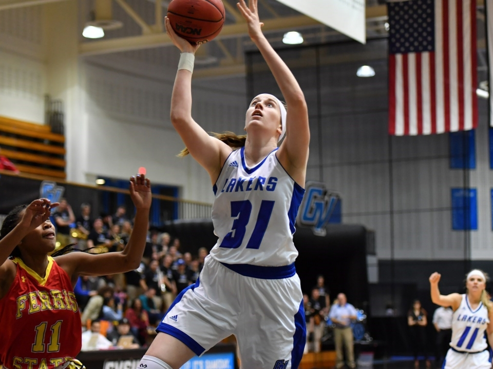 Cassidy Boensch of Grand Valley State women's basketball had a big January for the Lakers.