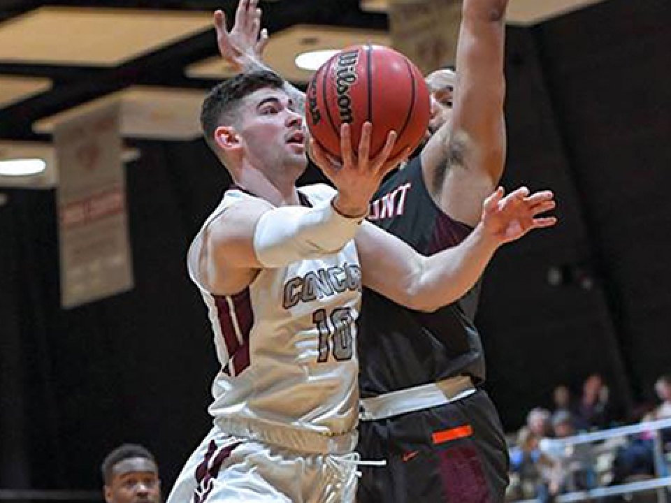 Tommy Bolte scored a DII men's basketball season-high 65 points on Jan. 23.