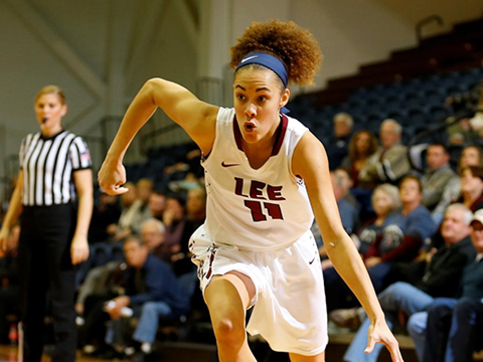 Lee has some big wins in DII women's basketball this season.