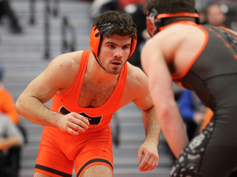 Princeton wrestling isn't what it used to be anymore.