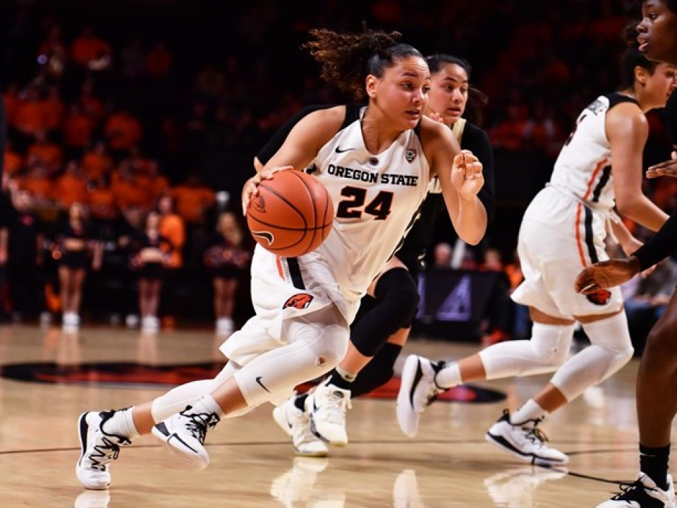 Stanford defeated Oregon State in this women's basketball matchup.