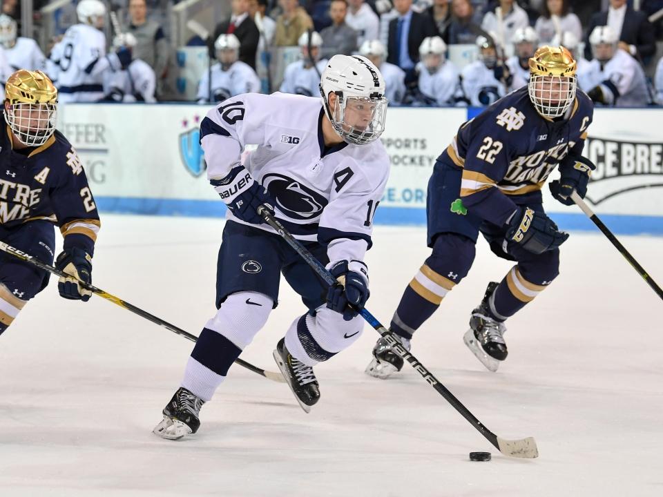 Penn State's Brandon Biro led a sweep of Minnesota over the weekend.
