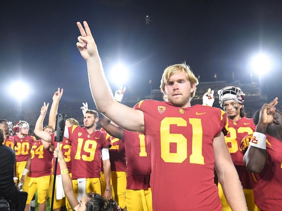 USC's Jake Olson wants to cure Retinoblastoma.