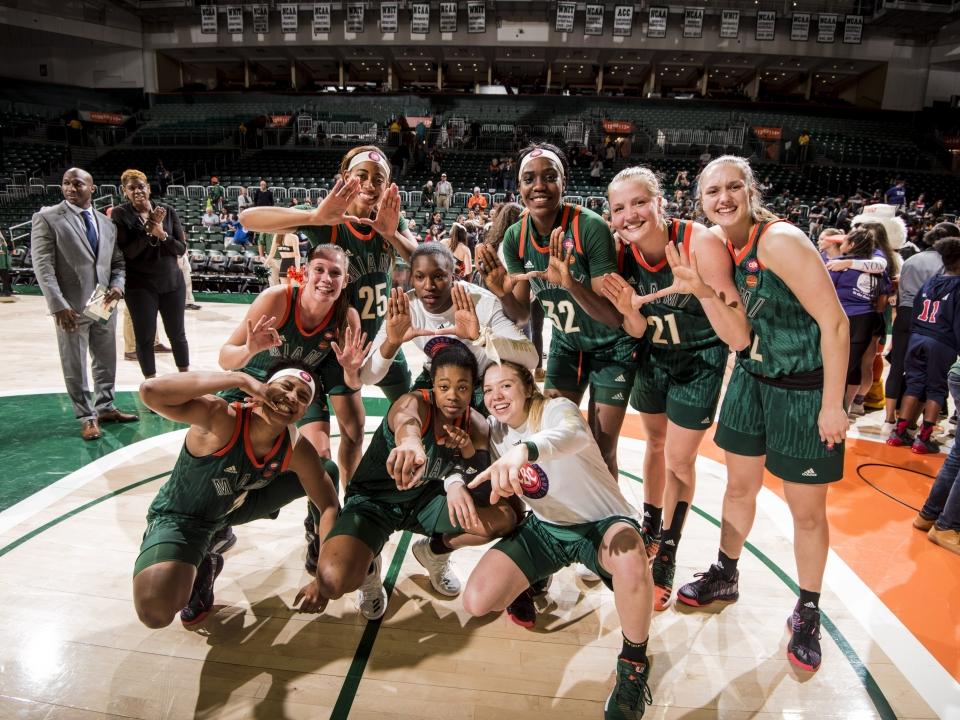 Miami women's basketball