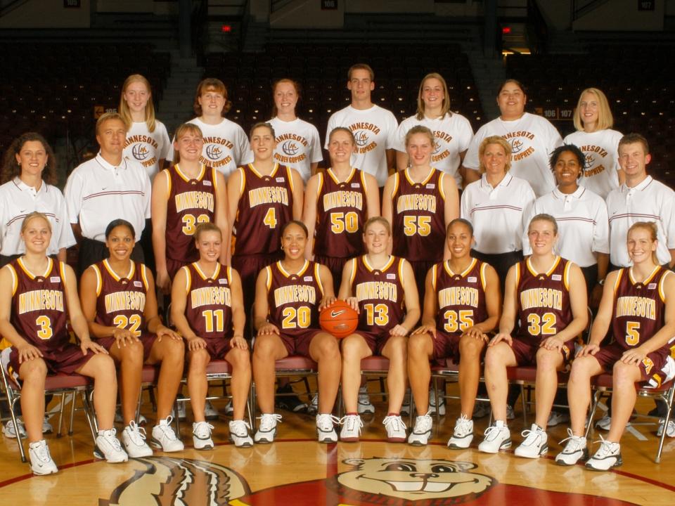 2004 Minnesota women's basketball team