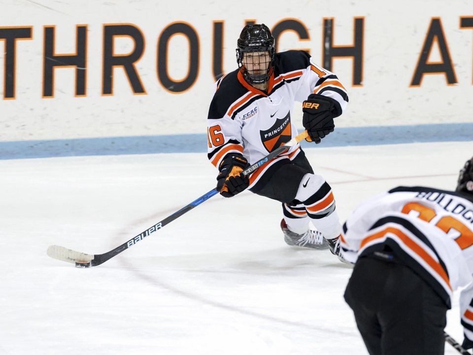 Sarah Fillier of Princeton had a great week in women's hockey