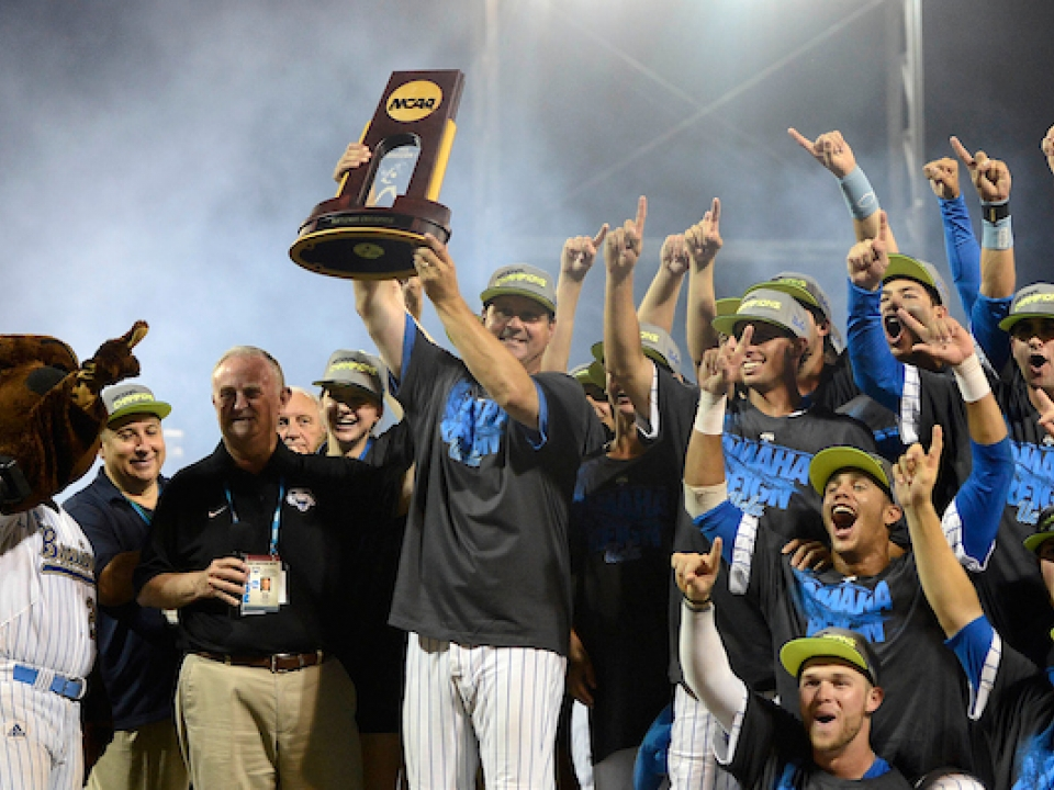 John Savage led UCLA baseball to its lone College World Series title.