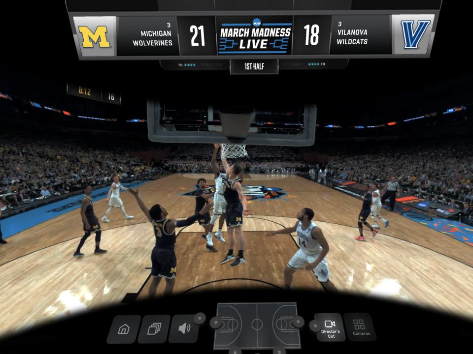March Madness virtual reality
