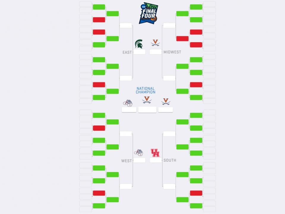 Saginaw native has the only ideal NCAA Tournament bracket