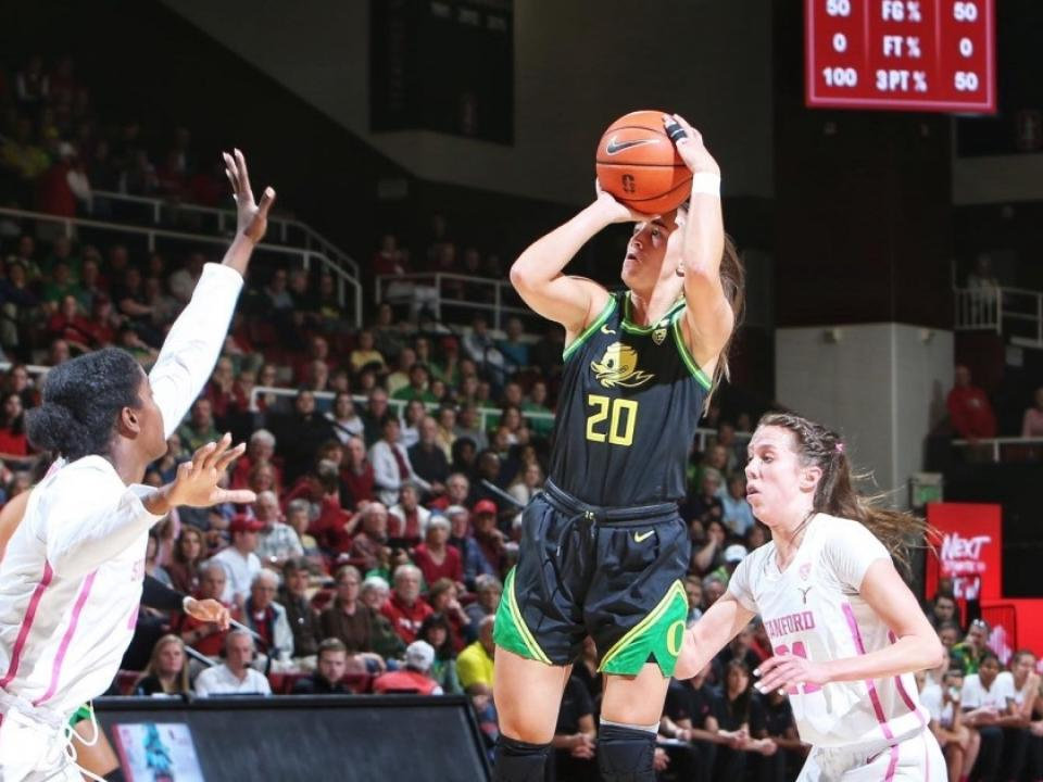 Oregon's Sabrina Ionescu delivers moving Kobe Bryant tribute followed by record-setting performance | NCAA.com
