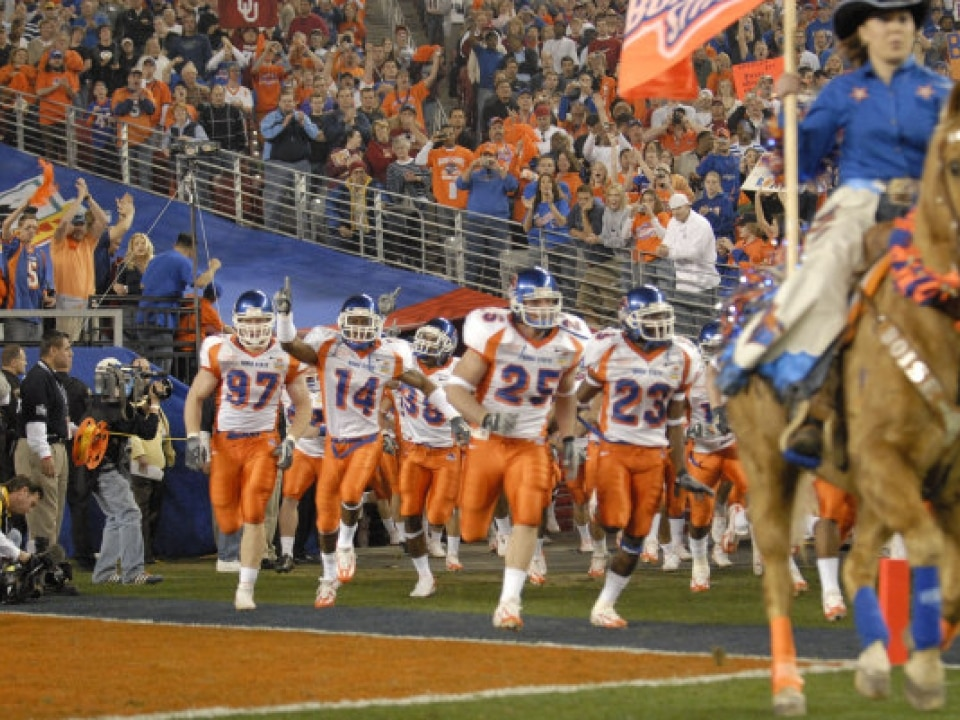 98c03569743a David vs. Goliath retold  Boise State s 2007 Fiesta Bowl win