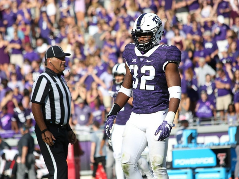 new products 96571 089be Travin Howard and TCU defense believe in the Gary Patterson ...