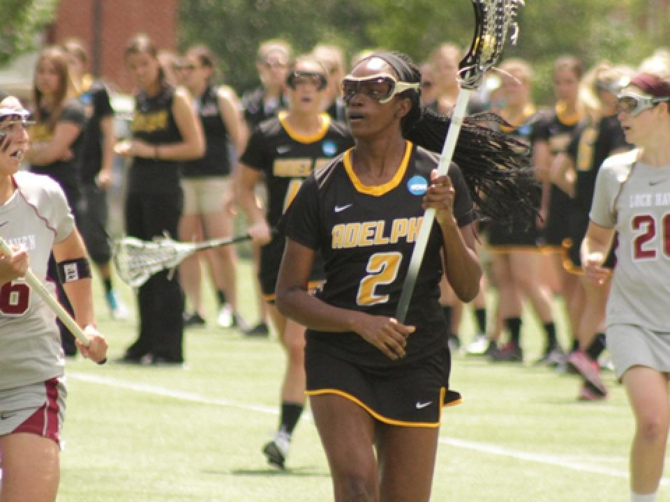 Adelphi had not been held to less than 10 goals all season; Lock Haven held it to seven.