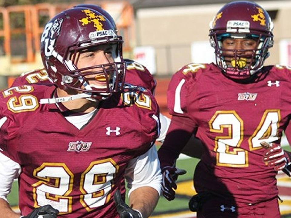 Bloomsburg is fifth in the AFCA Division II Coaches' Top 25 Poll