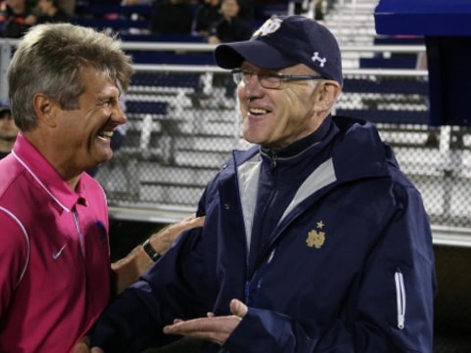 dac6262ff Notre Dame coach Bobby Clark announces retirement after 17 seasons ...