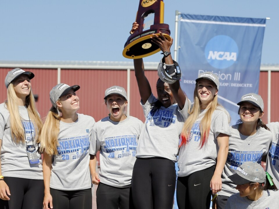 competitive price 4855d 2bbbf The Washington University in St. Louis women s track  amp  field team was  the top-ranked team all season, and it culminated the year with a  championship.