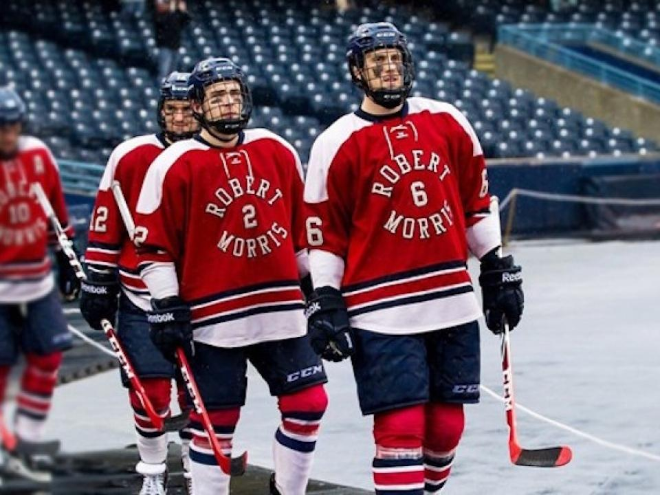 1d9177dcb The upcoming matchup with Niagara marks the second time in school history  that RMU will play outdoors.