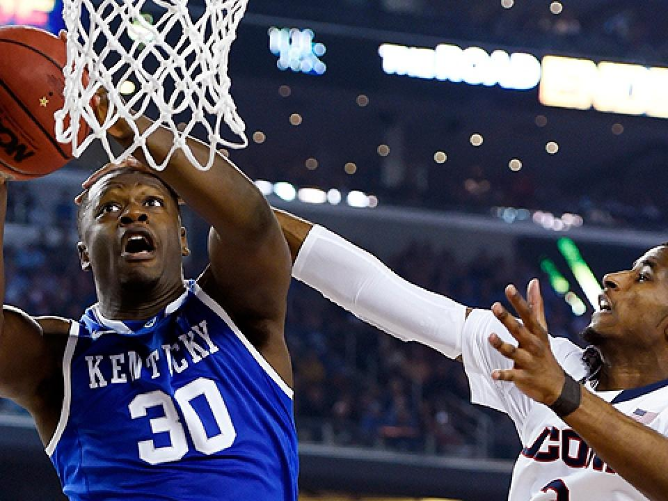 Julius Randle is a projected lottery pick in the NBA draft.