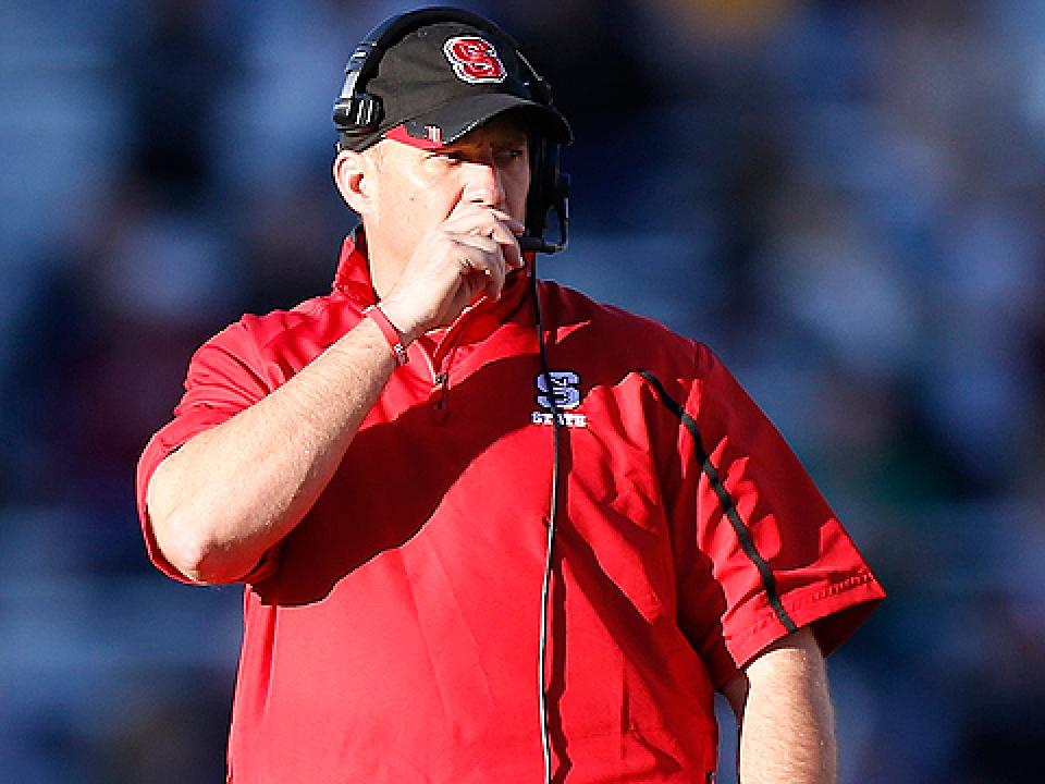 NC State will look to improve upon a 3-9 record in Dave Doeren's first season as football coach.