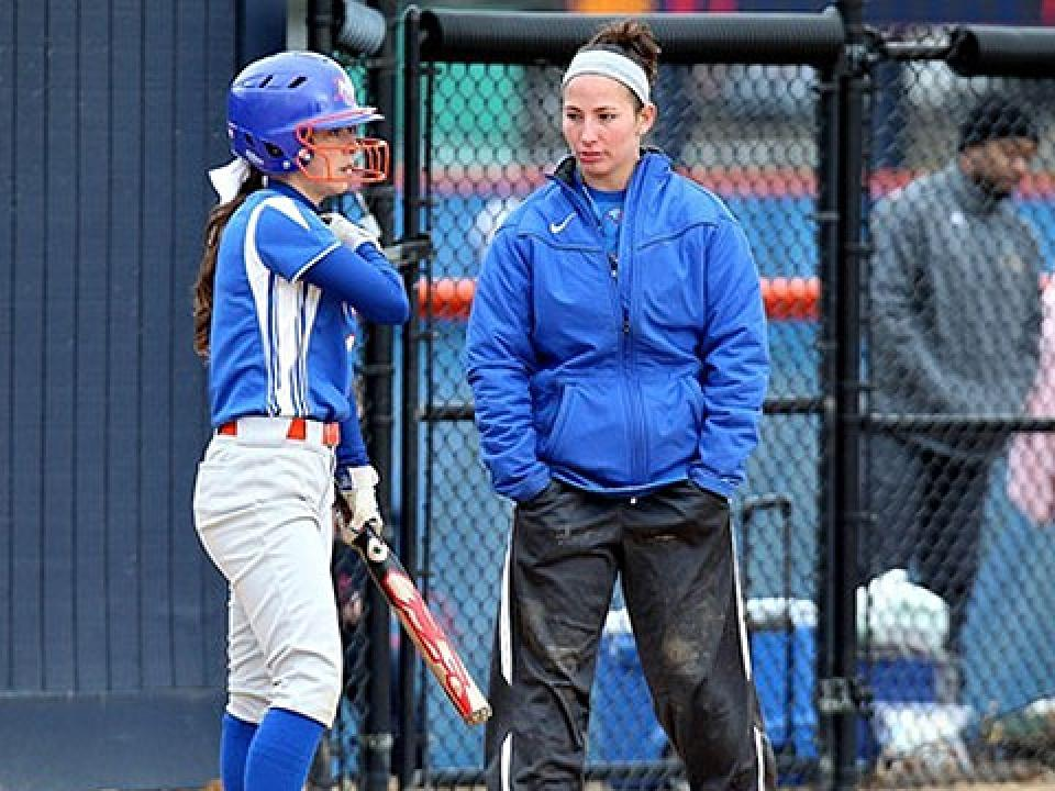 Brittany Robinson led SUNY New Paltz to a 10-24 record this past season.