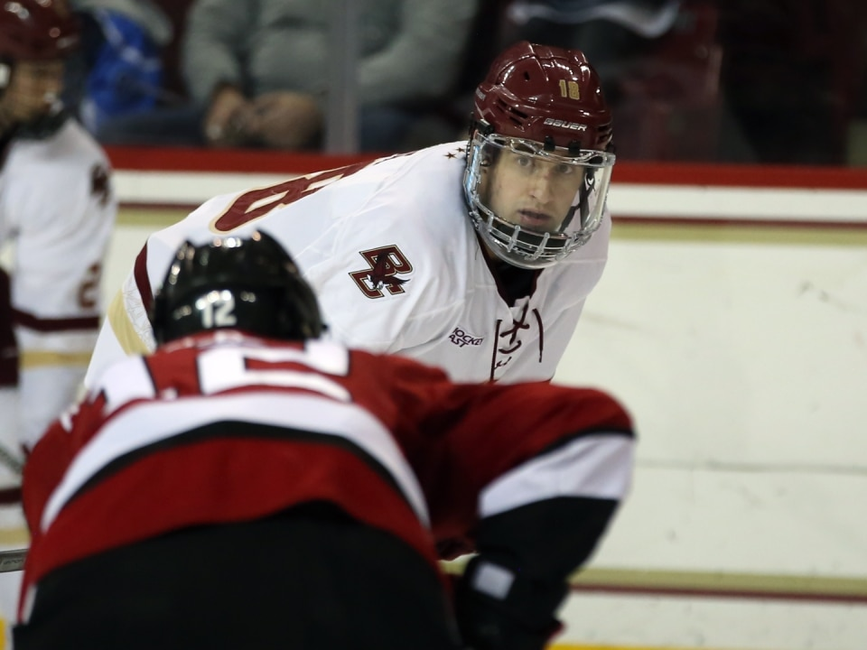 Tight Ecac Hockey East Races Highlight Games To Watch This Weekend