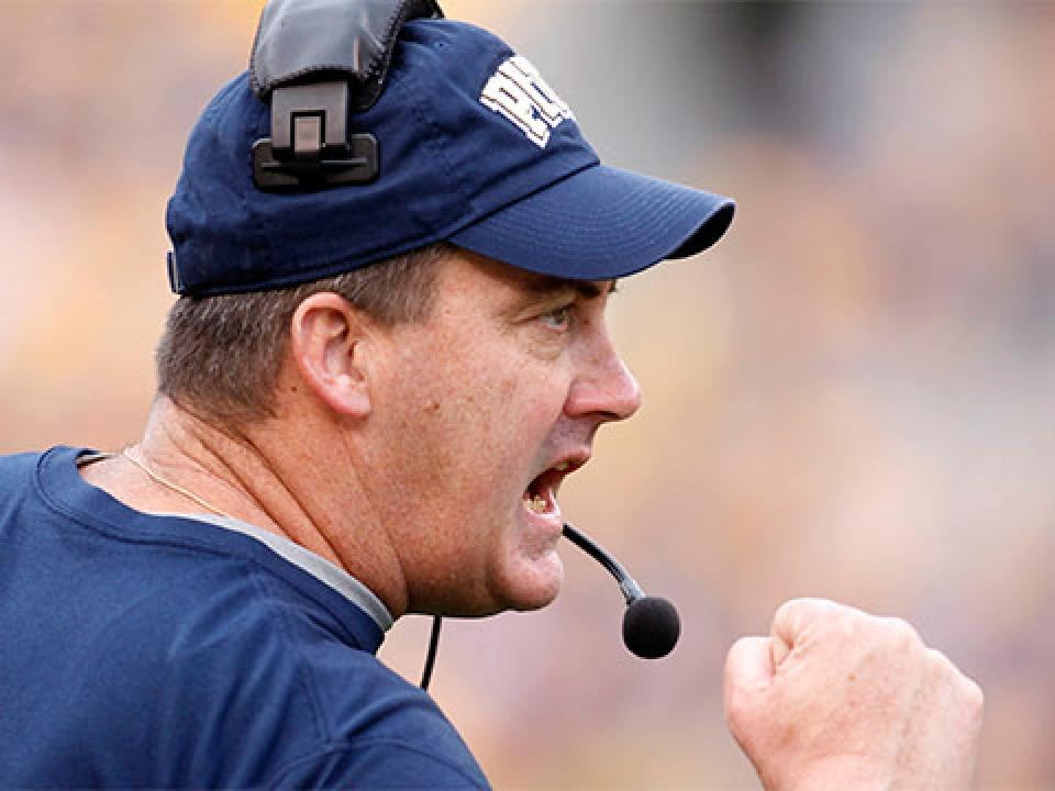Coach Paul Chryst is 13-13 in two seasons at Pittsburgh.