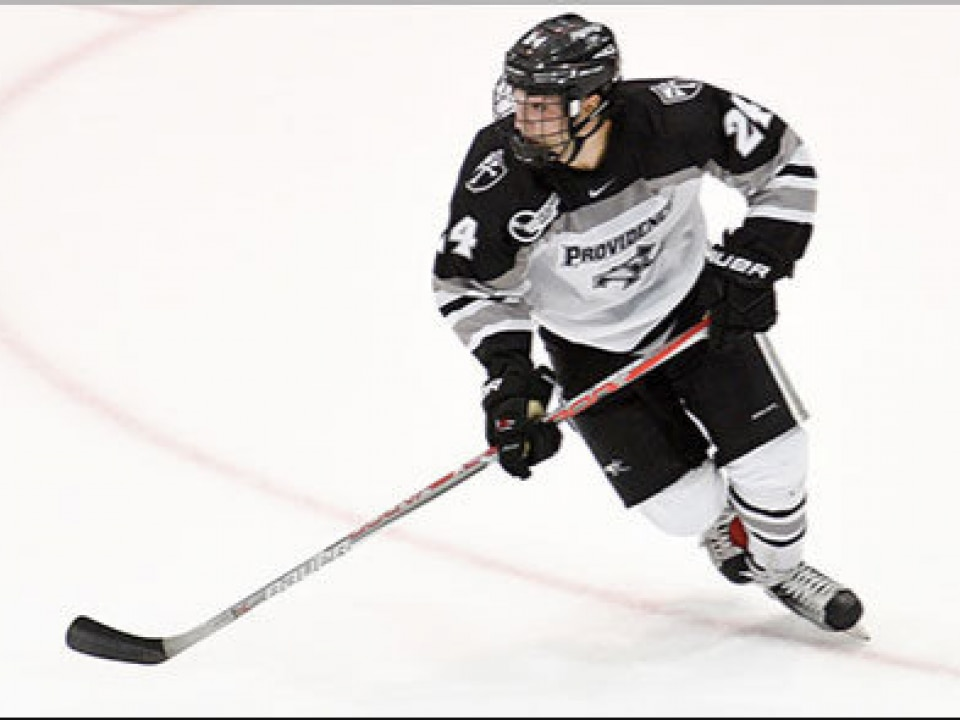 best cheap b5f12 c2660 No. 11 Providence eager for growth of D-man Spenser Young ...