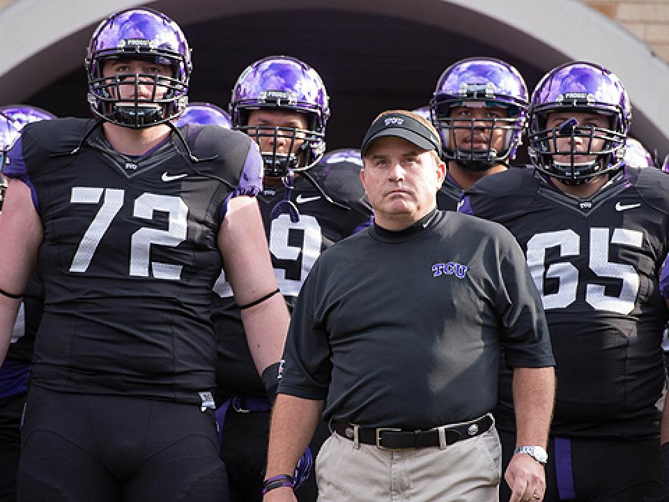 Gary Patterson endured just his second losing season at TCU last year.