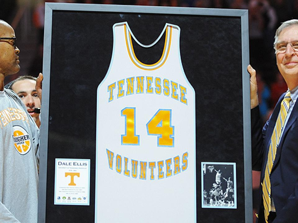 Tennessee retires Dale Ellis' jersey