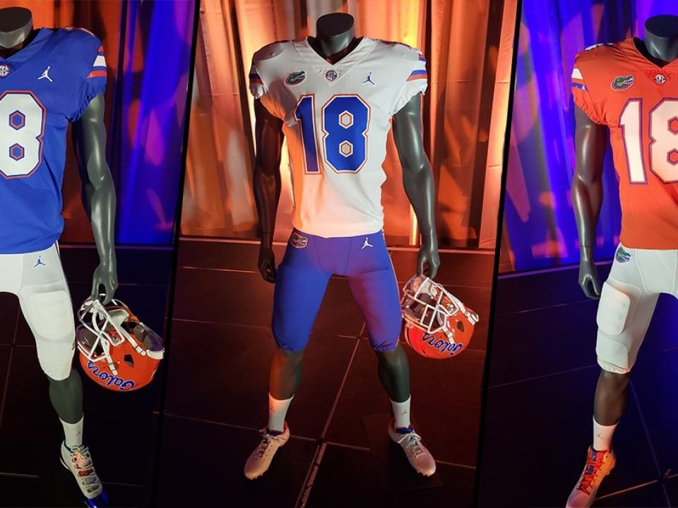 the latest 3c96c fea96 Florida unveils new Jordan Brand uniforms, apparel for 2018 ...