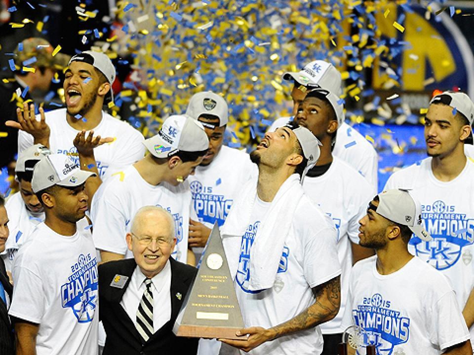 Kentucky Wildcats -- 2015 SEC champions
