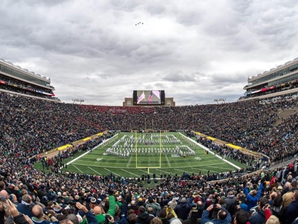 051506331 2019 NHL Winter Classic set for Notre Dame Stadium | NCAA.com