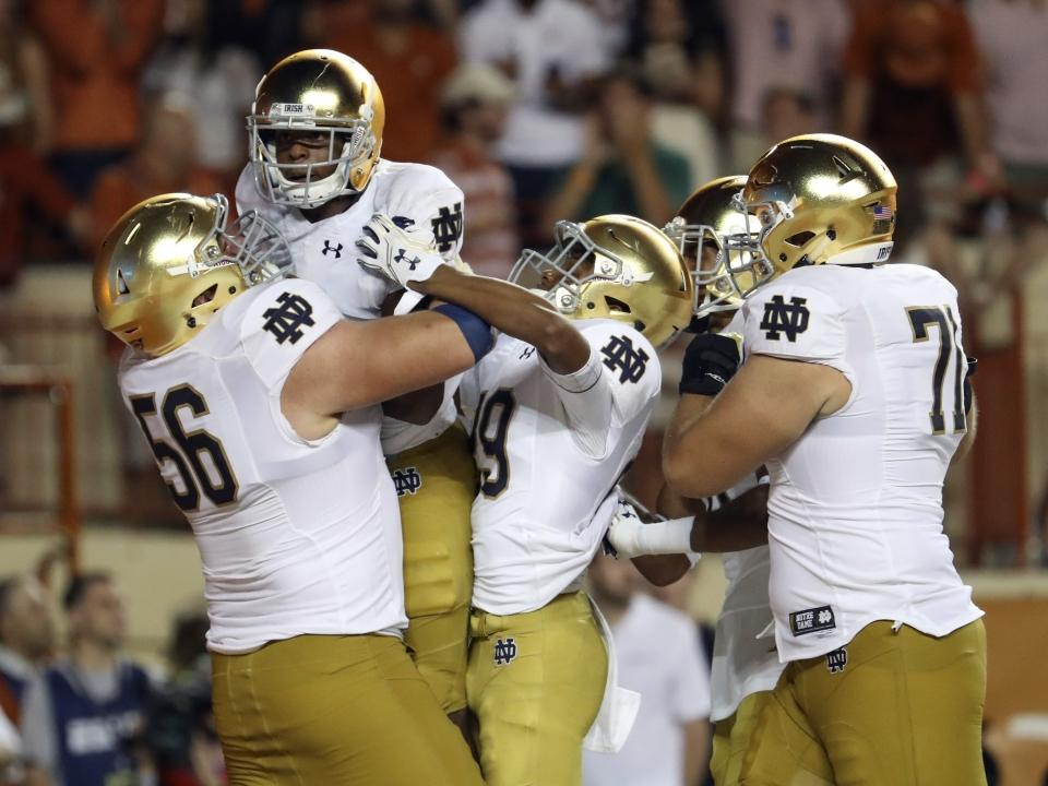 new style 56e2c 20e55 Notre Dame boasts possibly the nation s top classic and traditional jerseys.