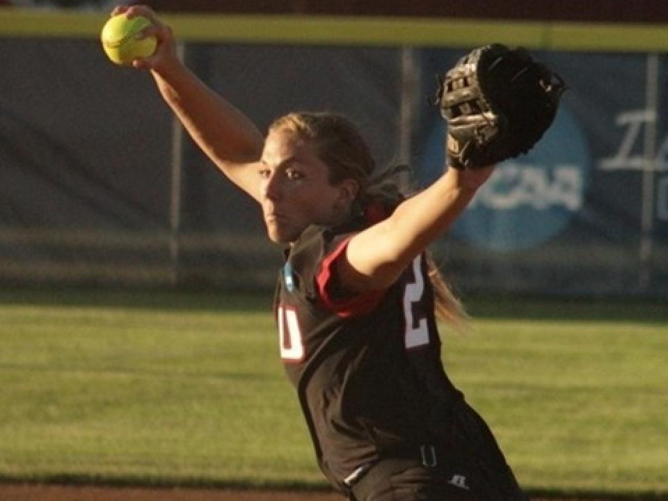 Valdosta State's Brianna Hancock allowed just one hit and four base runners.