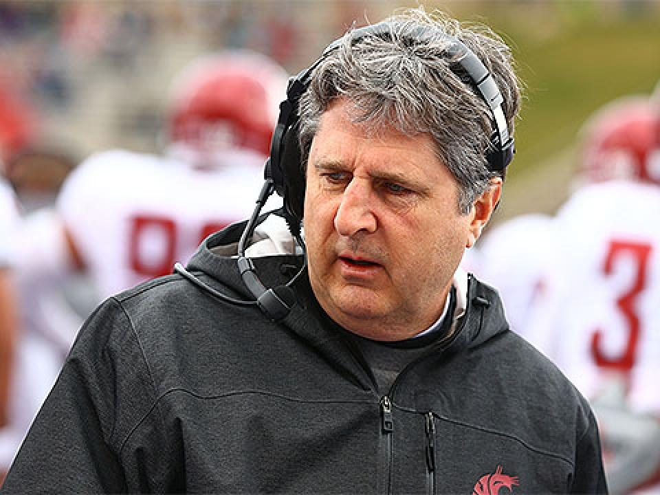 Mike Leach's offense ranked fourth in the nation in passing offense at 368 yards a game last season.