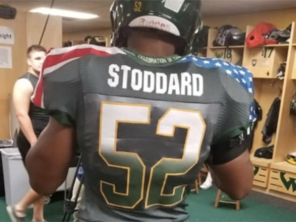 e29c94bf Wayne State to honor military with patriotic uniforms | NCAA.com