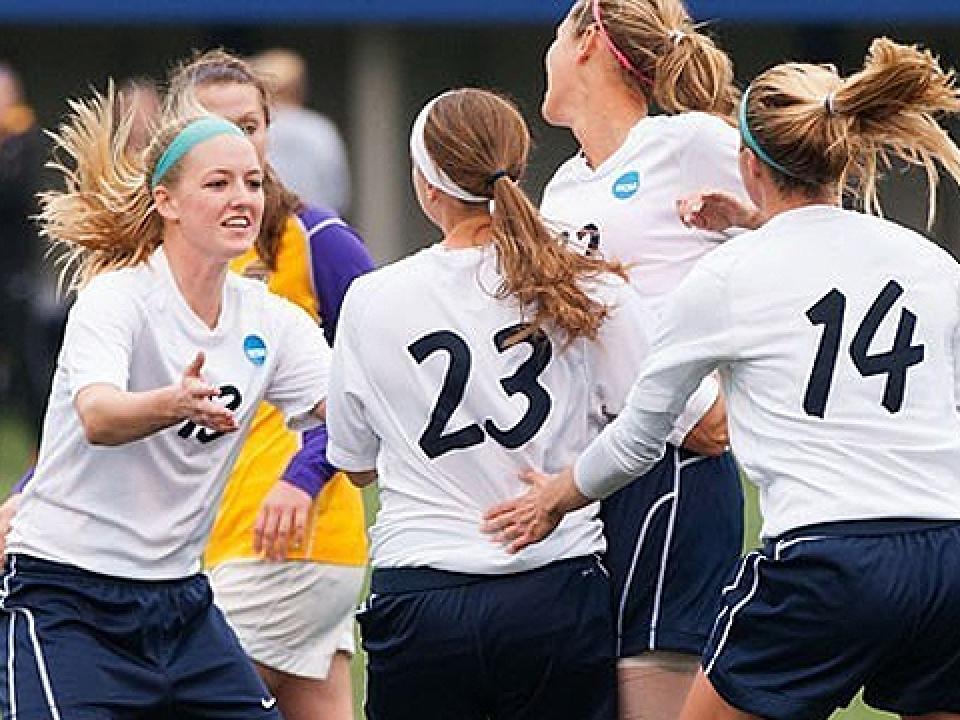 Wheaton women's soccer