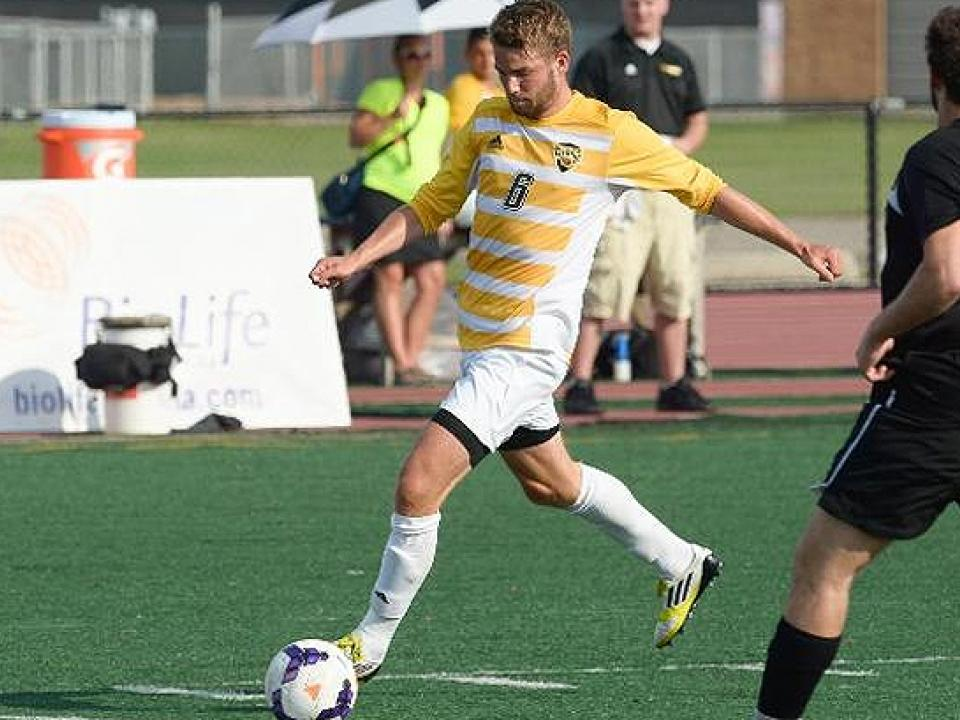 Jan Nachtigall's goal in the 76th minute sealed the UW-Oshkosh victory.
